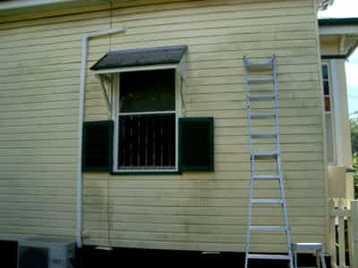 Before pressure cleaning and house washingOur cleaners will help get the best price for your property . Exterior House Cleaners Bundaberg. Home Design Ideas