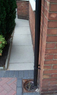 driveway and path high pressure cleaning